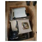 Assorted Metal Cases and Parts