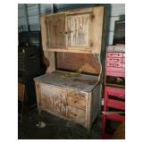 Hoosier Cabinet With Contents