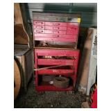 Metal Rolling Tool Chest With Contents
