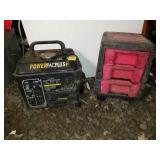 1200 Watt Generator and Tool Chest