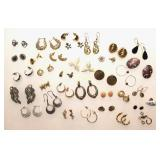 Collection of Costume Earrings
