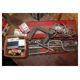 Husky Sockets, Shopmate Drill, Spark Plugs+Staples