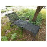 Vintage Metal Lounge Chair