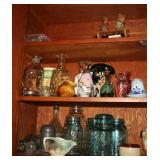 Mason Jars, McCoy Pottery, Vases, and More