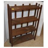 Antique Handmade Wooden Book Case