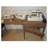 Vintage Kenmore Sewing Machine and Accessories