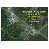 Two 4.9 +/- Acre Commercial Parcels Minutes from Smith Mountain Lake--Selling to the Highest Bidder