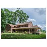 55 +/- Acres Zoned A-1 w/3 BR Custom Brick Home, Fenced Pasture, Outbuildings, 280' +/- of Road Fron