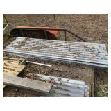 8 ft. galvanived roofing