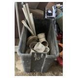 box of plumbing