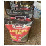 3 bags of lawn insect killer (sealed)