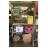 shelf w/ contents