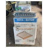 egg turner/ 2 incubators/ feeder/ sprayer