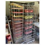 3 bread racks w/trays shown