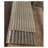 12 ft. fiberglass panels (11)