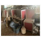 scrap metal/ desks