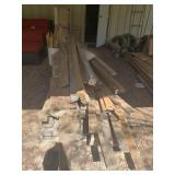 pile of wood 12ft and shorter