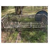 wicker/bamboo chair set