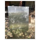 Stainless Steel door/platform 44x51x3