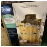 Oster 4 quart ice cream maker NIB