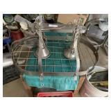 Kitchen light / pot rack 33x20