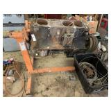 engine stand w/ motor