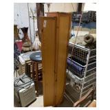 tall wooden cabinet/organizer