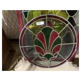 stained glass 22 round