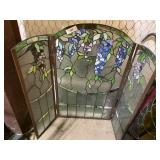 stained glass trifold 40x35