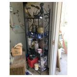 shelf 24x6 ft metal no contents