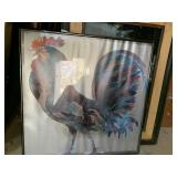 Rooster picture 23x23