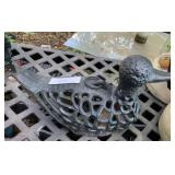 metal tea light holder duck