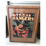 Texas Rangers Print