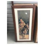 Buckaroo Cowboy print
