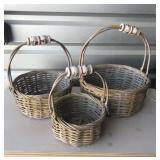 3 basket set