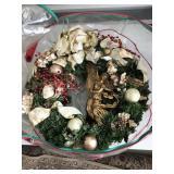 Christmas Wreath in bag