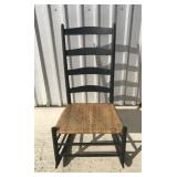 Rocking chair w/ cane bottom