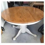 """Wooden table 46"""" round"""