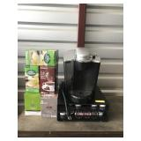 Keurig w/k-cup tray and coffee boxes