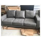 sofa/love seat/ 2 chairs microfiber grey