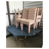 Table and 8 chairs set