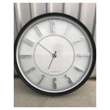 """Sterling & Noble Clock 24"""" round"""