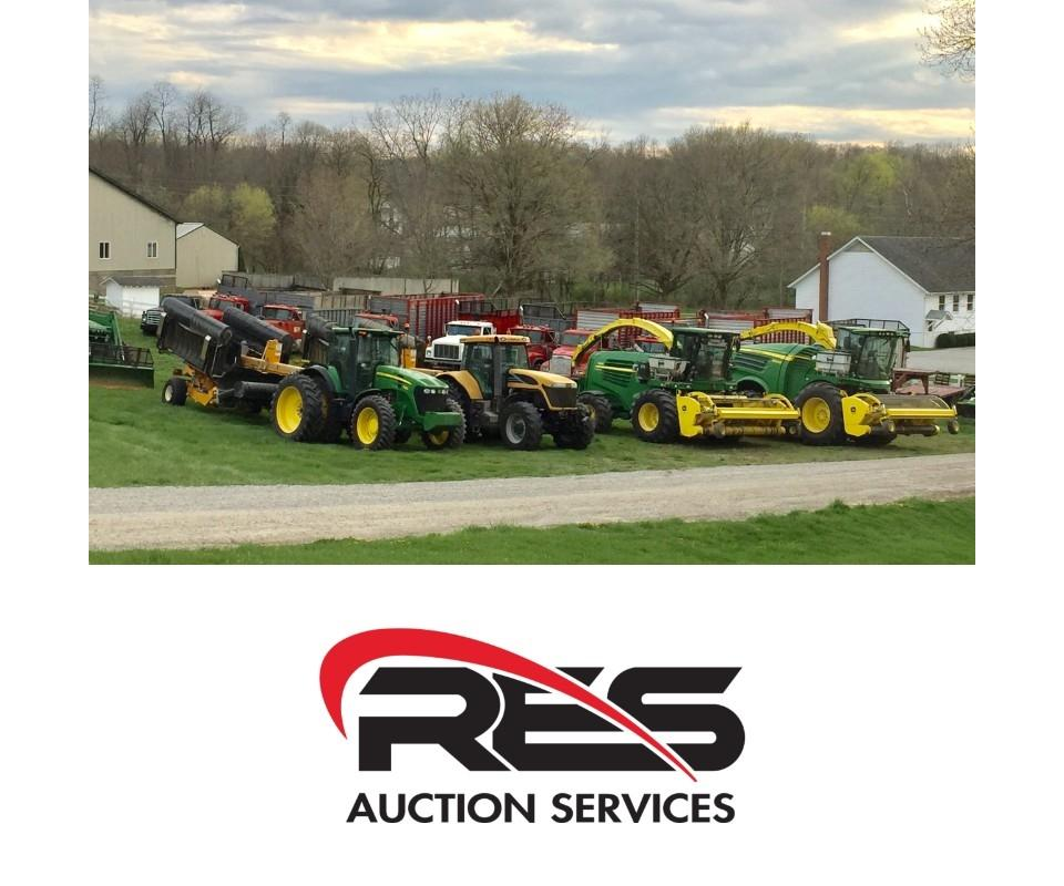 RES Equipment Yard welcomes the 25th Annual Hillsdale FFA
