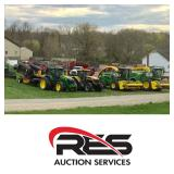 RES Equipment Yard  welcomes the  25th Annual Hillsdale FFA Alumni Consignment Auction