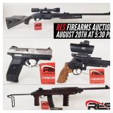 RES Firearms & Blacksmith Auction