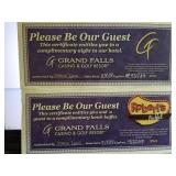 Donated By Grand Falls Casino