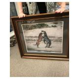 Wild Horse Print framed & Matted  donated by Nancy Hall