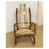 Amish Custom Wooden Rocking Chair