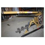 """King Cutter 3pt Post Hole auger w/9"""" Bit- like new"""