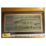 Vintage Speer Bullet Display Board